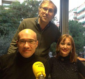 Monica Esgueva, JOan Garriga y Gaspar Hernandez en L'ofici de viure