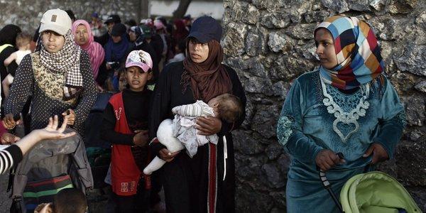 refugiados Huff